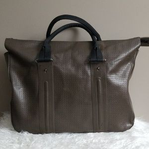 [French Connection] Perforated Zip Top Bag